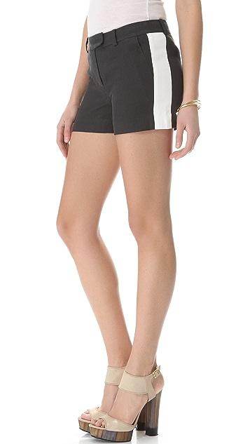 Rachel Zoe Maya Striped Shorts