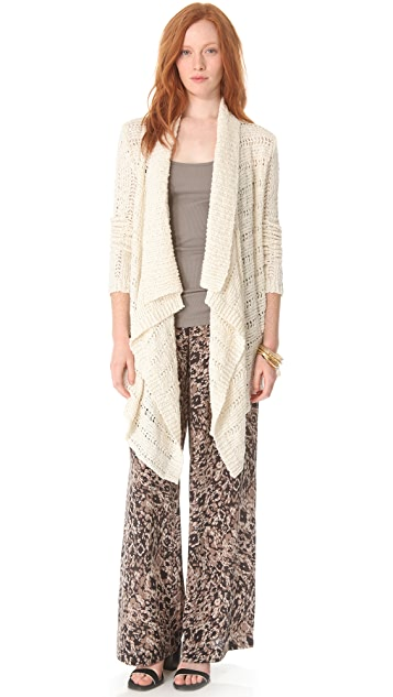 Rachel Zoe Serafina High Low Cardigan