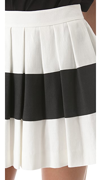 Rachel Zoe Mirabelle Pleated Skirt