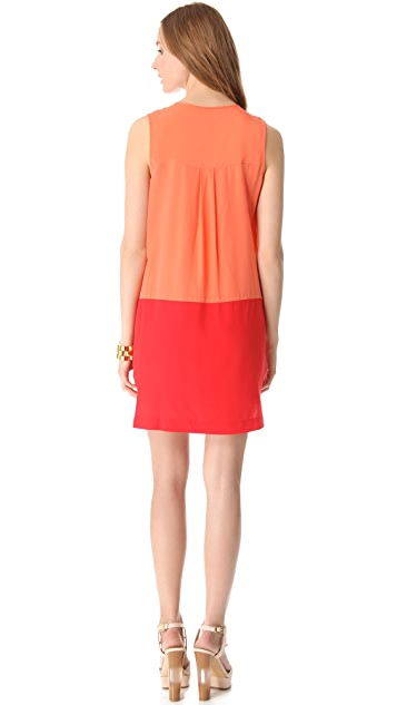 Rachel Zoe Jonah Colorblock Mini Dress