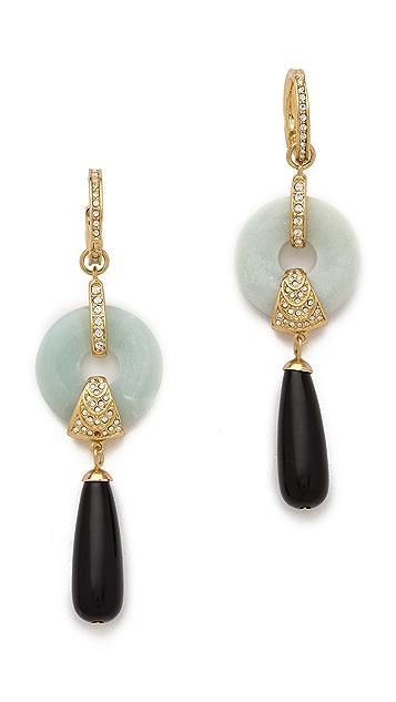Rachel Zoe Amazonite Drop Earrings