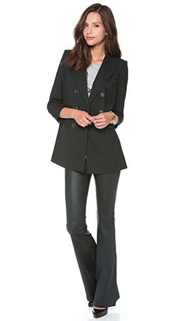 Rachel Zoe Antibes Double Breasted Jacket
