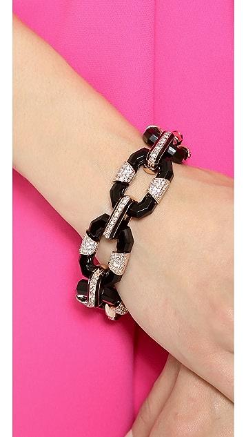 Rachel Zoe Small Lucite Link Bracelet