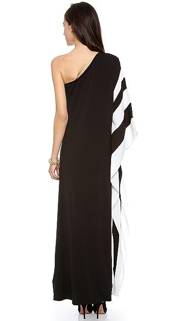 Rachel Zoe Azur One Shoulder Maxi Dress