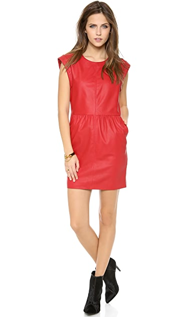 Rachel Zoe Antonia Leather Dress
