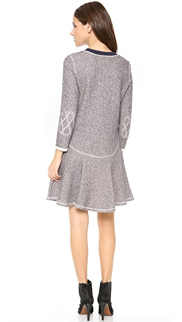 Rachel Zoe Scotty Flounce Dress