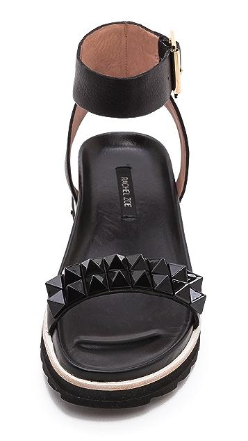 Rachel Zoe Finley Studded Flat Sandals