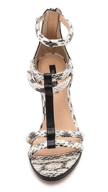 Rachel Zoe Nancy Strappy Wedge Sandals