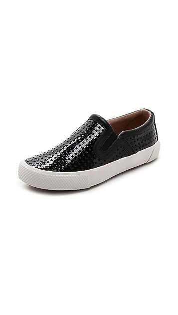 Rachel Zoe Barney Perforated Sneakers