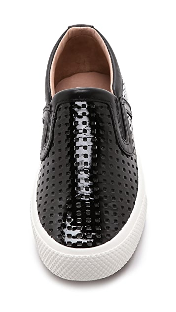 Rachel Zoe Barney Perforated Sneakers
