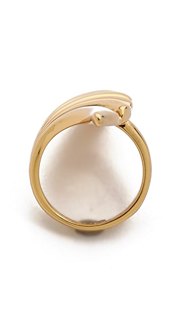 Rachel Zoe Safari Cutout Ring