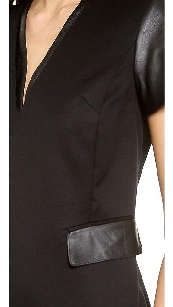 Rachel Zoe Issac Tuxedo Dress