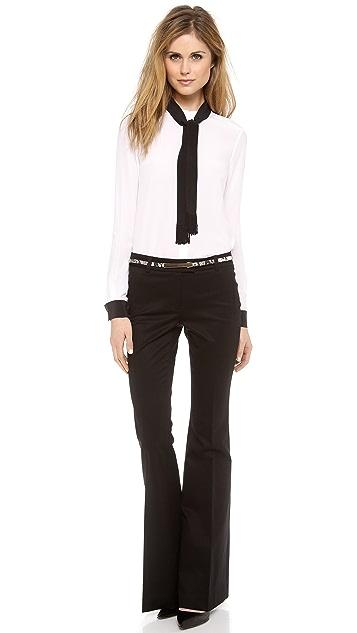 Rachel Zoe Ricky Neck Tie Blouse