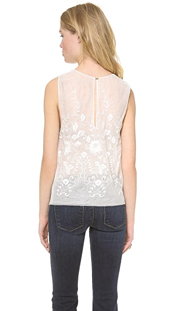 Rachel Zoe Clare Embroidered Top