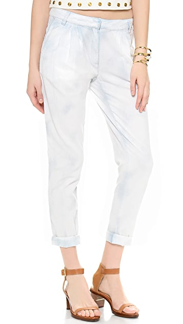 Rachel Zoe Ryan Chambray Slouchy Pants