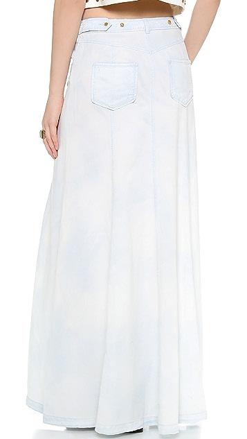 Rachel Zoe Amelia Chambray Maxi Skirt