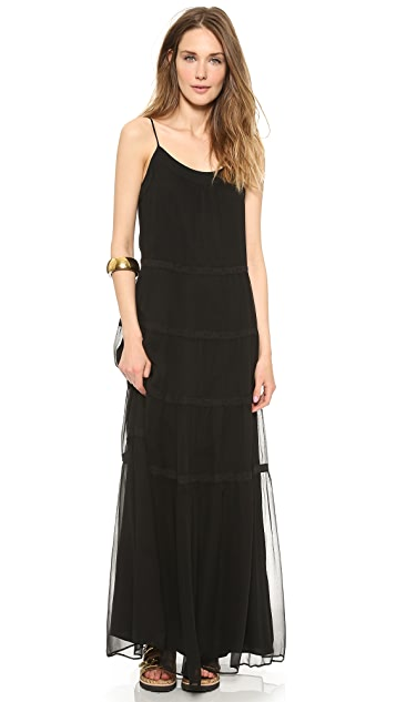 Rachel Zoe Kyler Tiered Maxi Dress