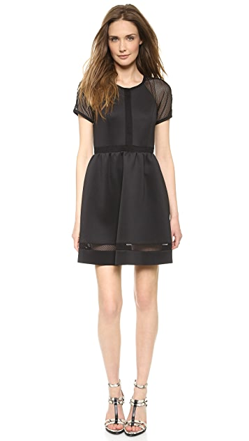 Rachel Zoe Baxter Short Sleeve Raglan Dress