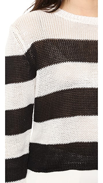 Rachel Zoe Austin Cropped Sweater