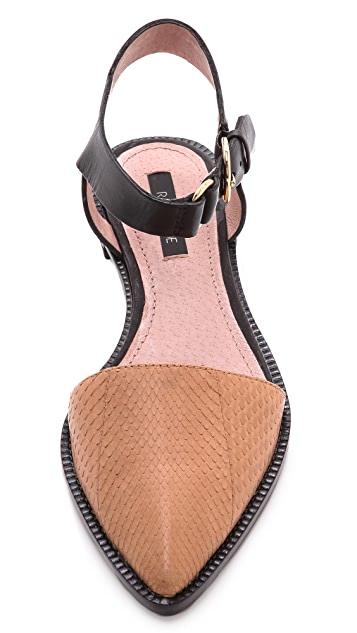 Rachel Zoe Iris Ankle Strap Flats