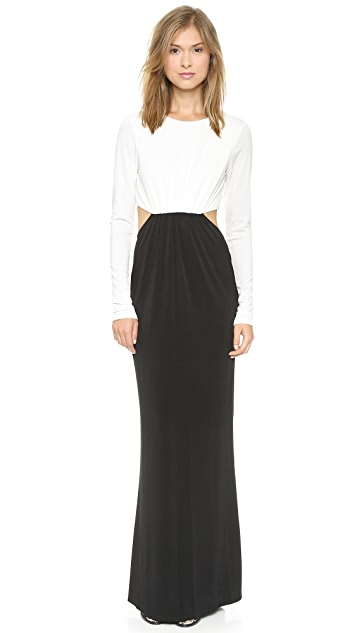 Rachel Zoe Vera Cutout Maxi Dress