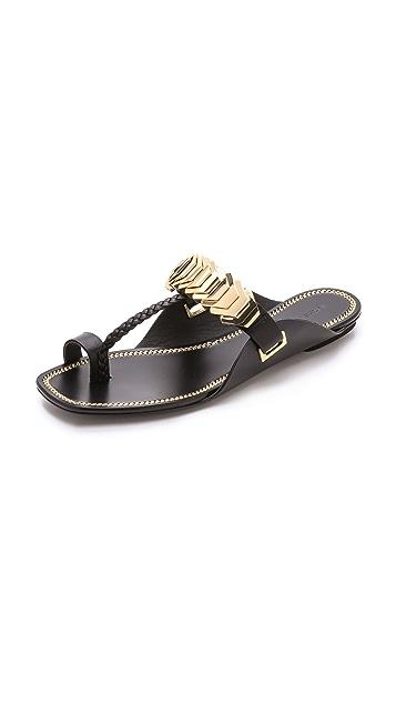 Rachel Zoe Ida Toe Ring Sandals