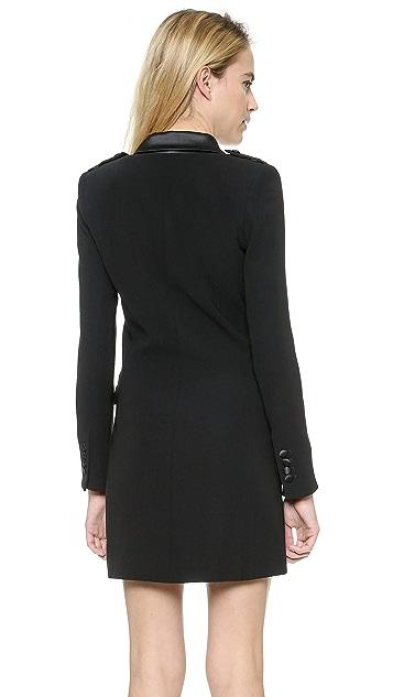 Rachel Zoe Longsleeve Tux Dress