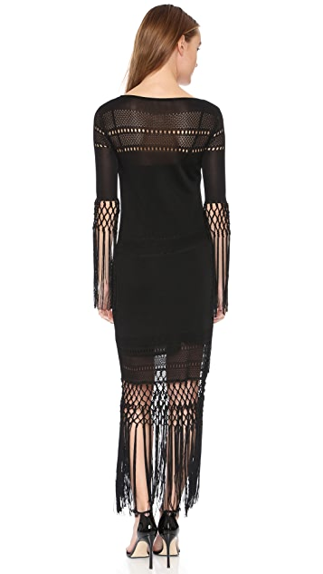 Rachel Zoe Dane Tassel Maxi Dress