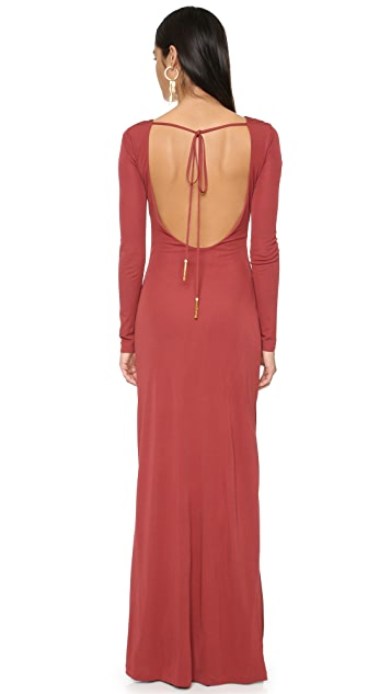 Rachel Zoe Fannie Draped Gown
