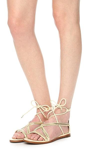 Rachel Zoe Babette Flat Sandals Shopbop