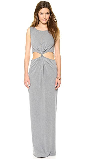 Rae Francis Cain Maxi Dress