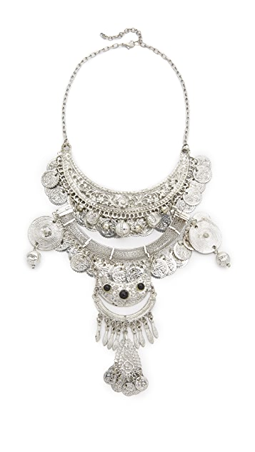 Raga Gypsy Coin Statement Necklace
