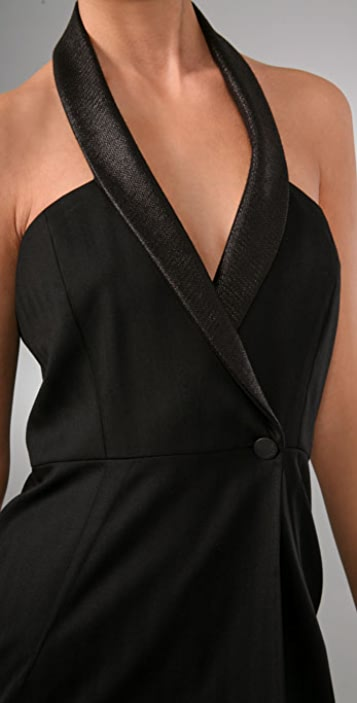 Rag & Bone Tuxedo Dress