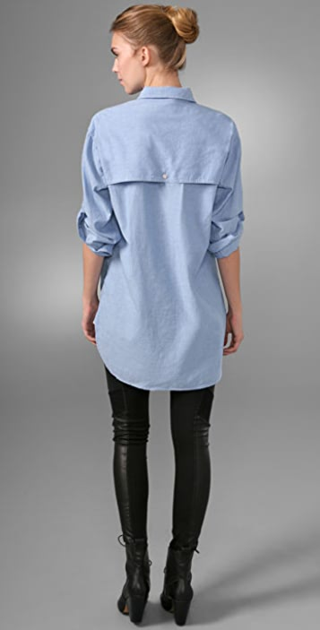 Rag & Bone Tailrace Shirtdress