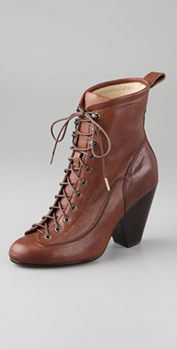 Rag & Bone Lace Up Combat Boots