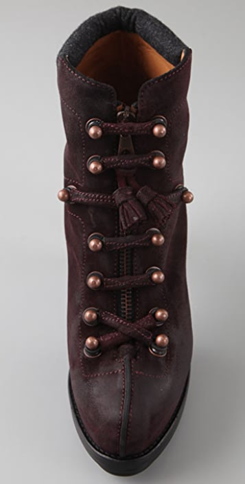 Rag & Bone Mallory Zip Front Booties