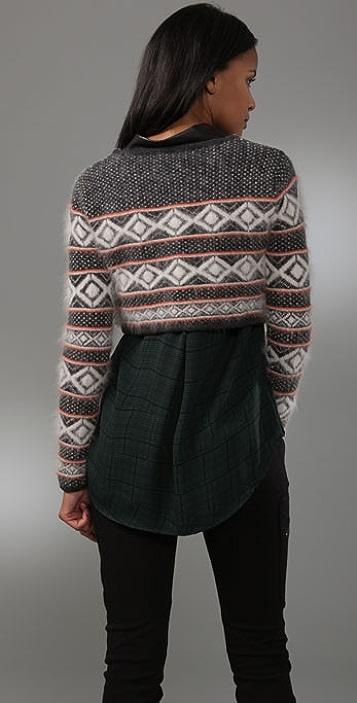 Rag & Bone Grayling Crop Sweater