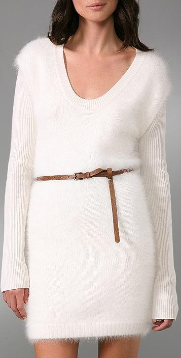 Rag & Bone Extra Long Skinny Belt