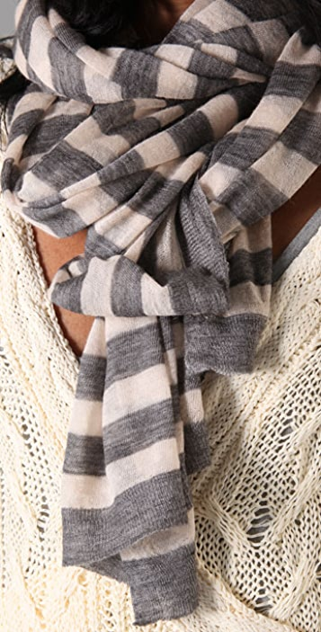Rag & Bone Adair Stripe Scarf