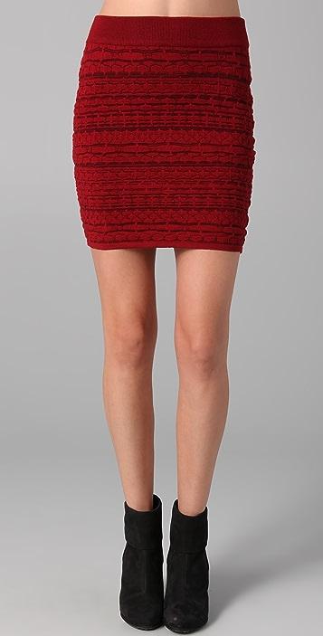 Rag & Bone Bryn Knit Skirt