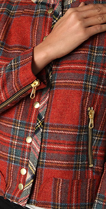 Rag & Bone Harvard Plaid Jacket