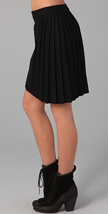 Rag & Bone Marius Skirt with Side Pleats