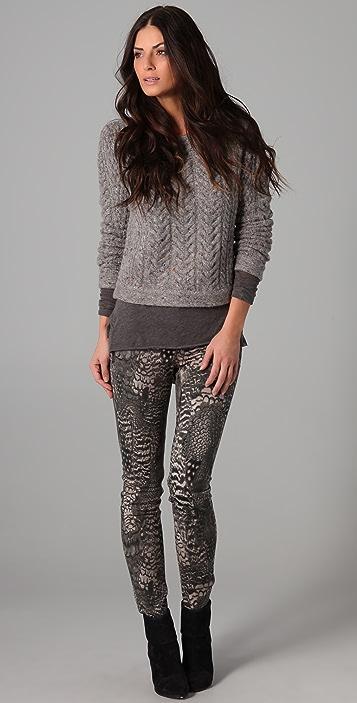 Rag & Bone Montgomery Crop Sweater