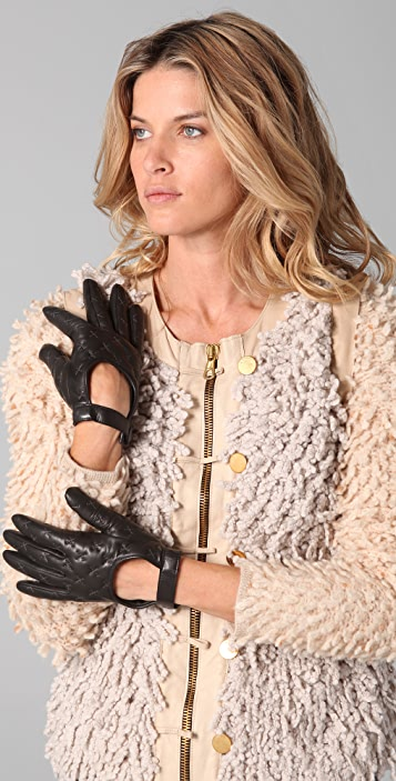 Rag & Bone The Quilted Driving Gloves