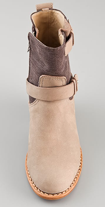 Rag & Bone Mid Moto Boots