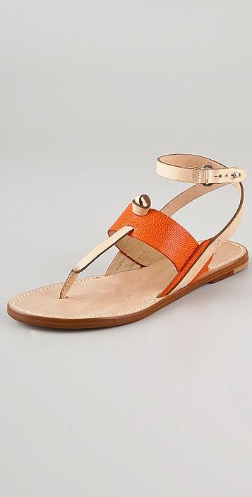 Rag & Bone Sigrid Thong Flat Sandals