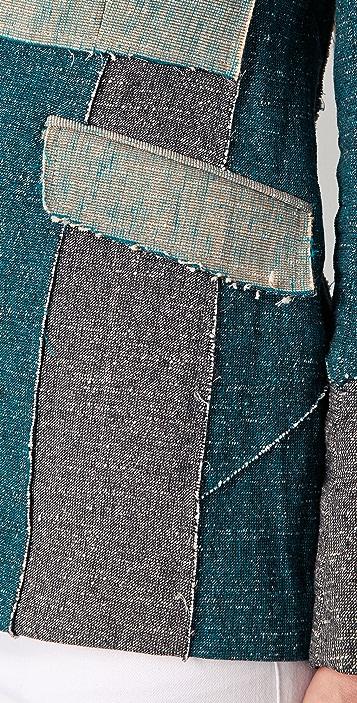Rag & Bone Patchwork Dart Jacket