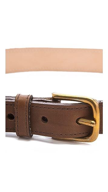 Rag & Bone Boater Belt