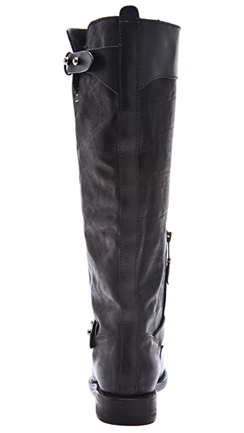 Rag & Bone Knee High Moto Boots