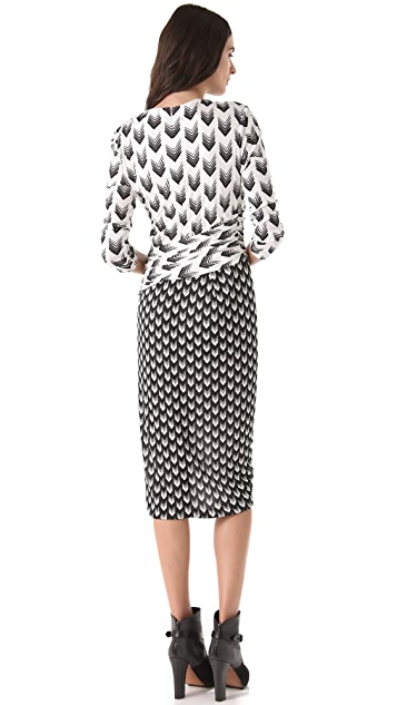 Rag & Bone Rani Arrow Print Dress